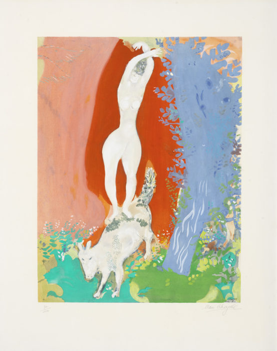 Chagall, Marc (after) Femme de Cirque 1960 Park West Gallery