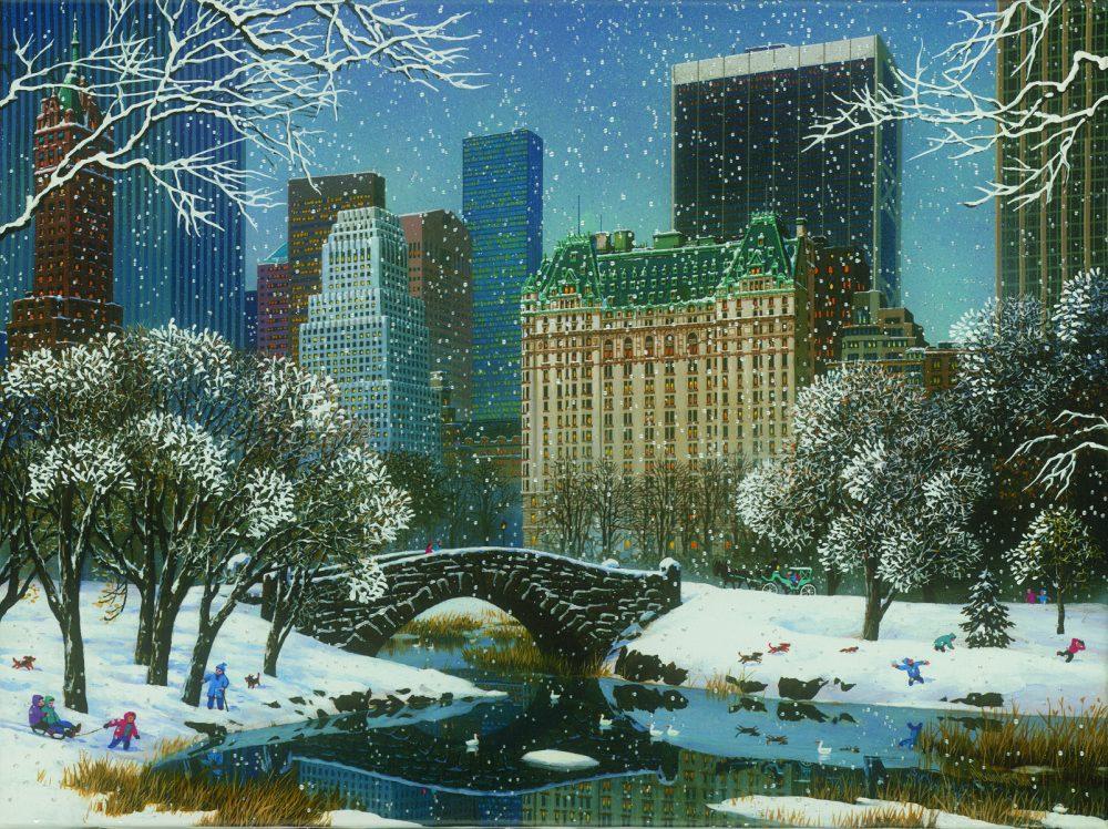 Central Park Winter Alexander Chen Park West Gallery