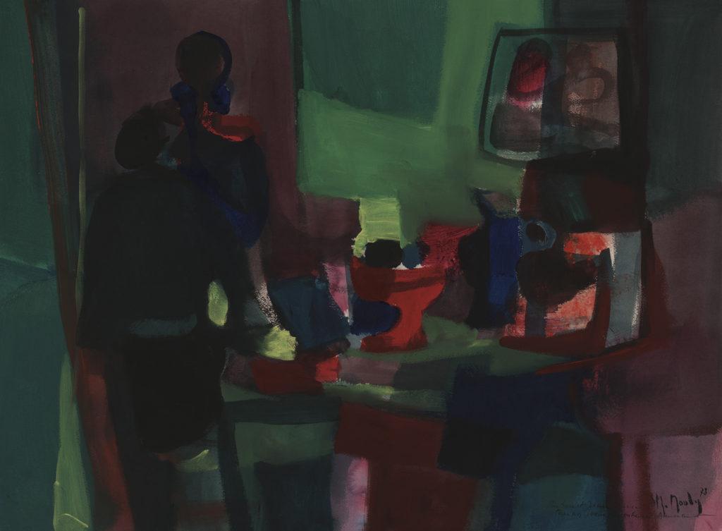 Mouly, Marcel Le Compotier Rouge 1978 Park West Gallery