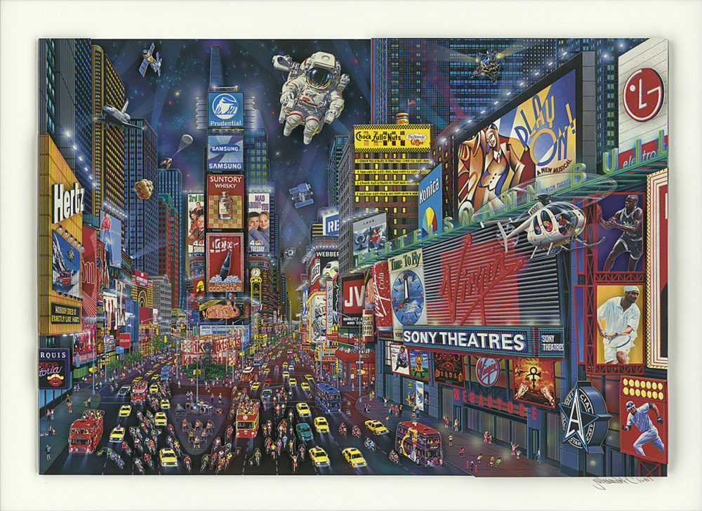 Times Square Panorama 2013 Alexander Chen
