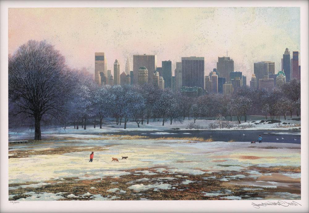 Central Park Skyline (2015), Alexander Chen