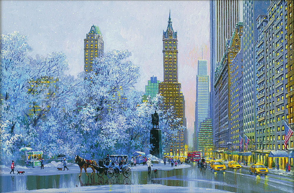 Central Park South and Center Drive (2015) Alexander Chen