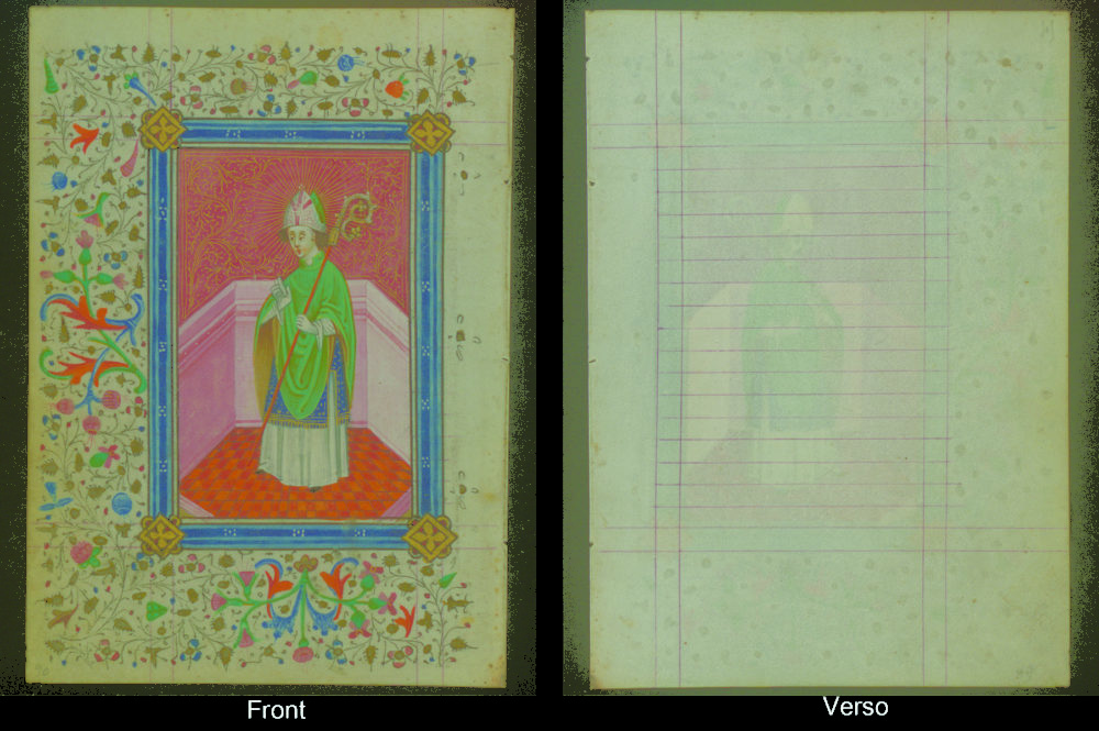 illuminated manuscript book of hours park west gallery