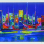 Port a la Nuit Bleue 2007 Marcel Mouly