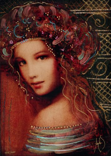 Woman of the Spring Csaba Markus Caldograph Park West Gallery