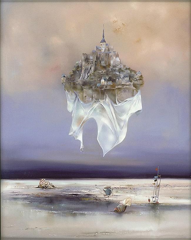 """""""Le Mont Saint-Michel,"""" Bernard Louedin"""