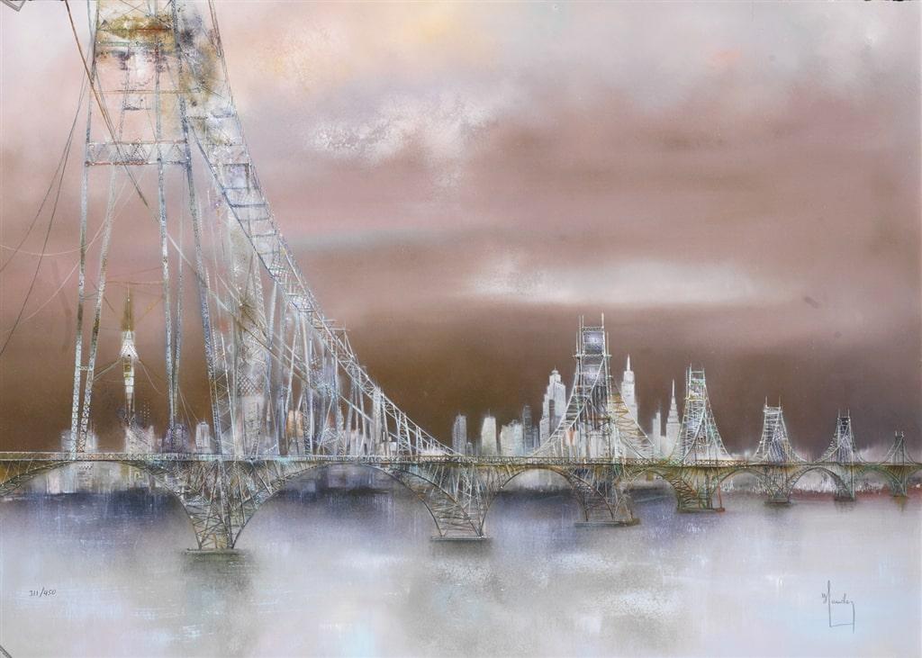"""Le Pont de New York,"" Bernard Louedin"