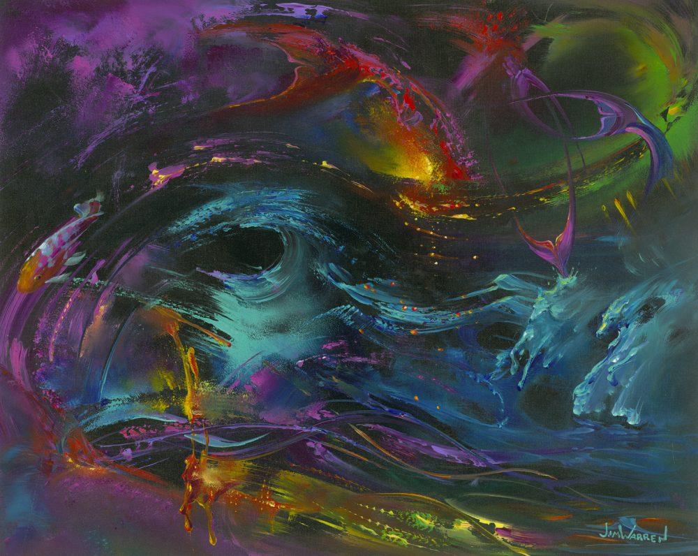 Seas of Living Color Jim Warren Park West Gallery