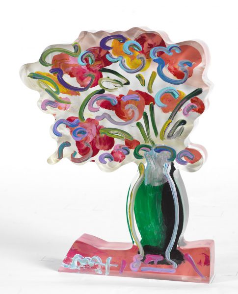 Peter Max Vase of Flowers Ver. II Park West Gallery