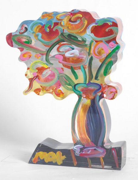 Vase of Flowers Peter Max Park West Gallery