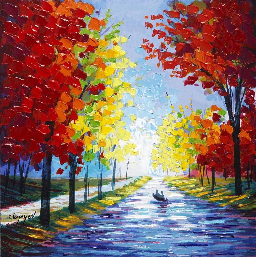 """""""River Drift"""" (2015), Slava Ilyayev"""
