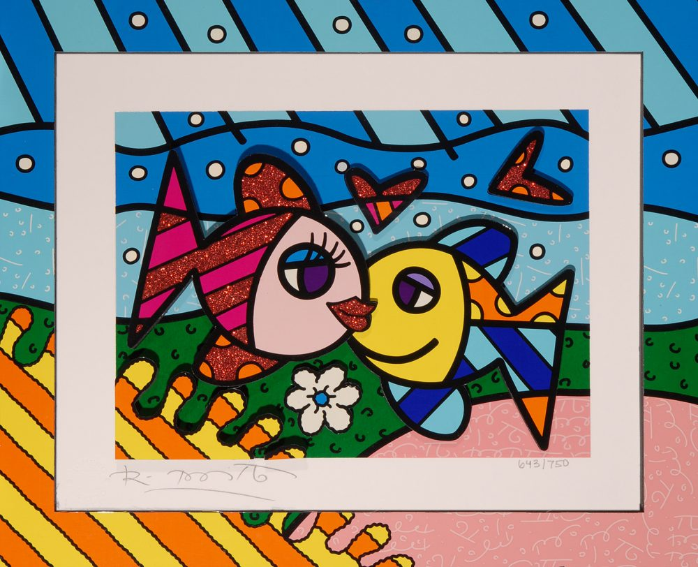 Romero Britto Happy Days Park West Gallery