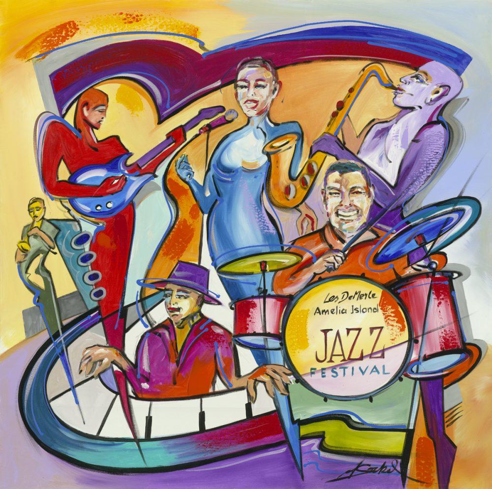 Amelia Island Jazz Festival Alfred Gockel Park West Gallery