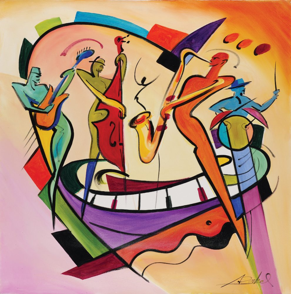 Jazzy Night Out Alfred Gockel Park West Gallery