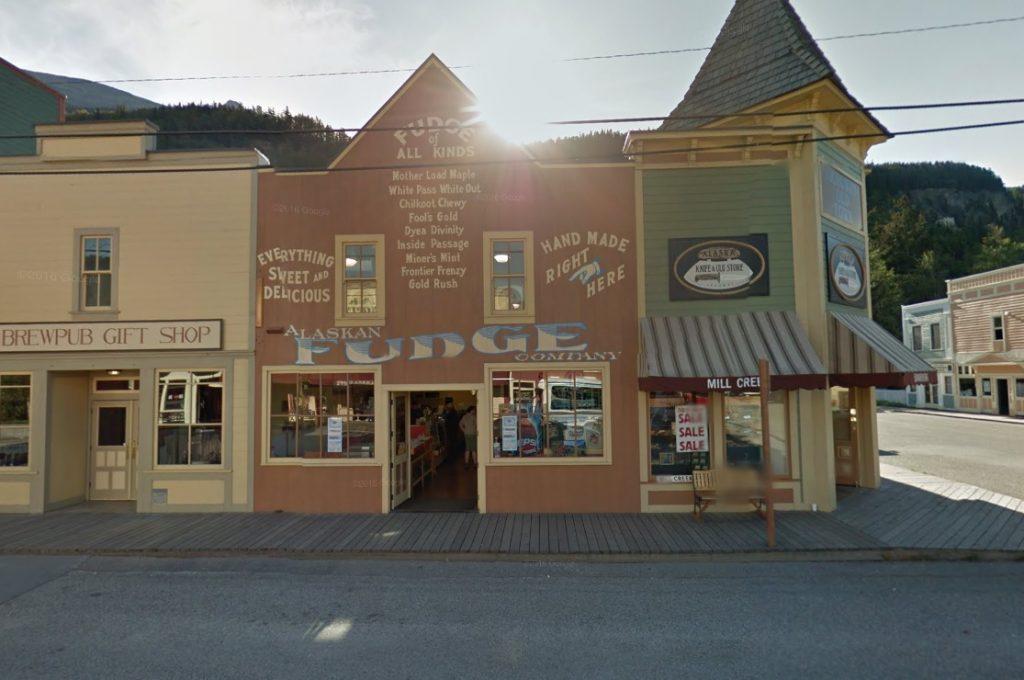 The Alaskan Fudge Company in Skagway