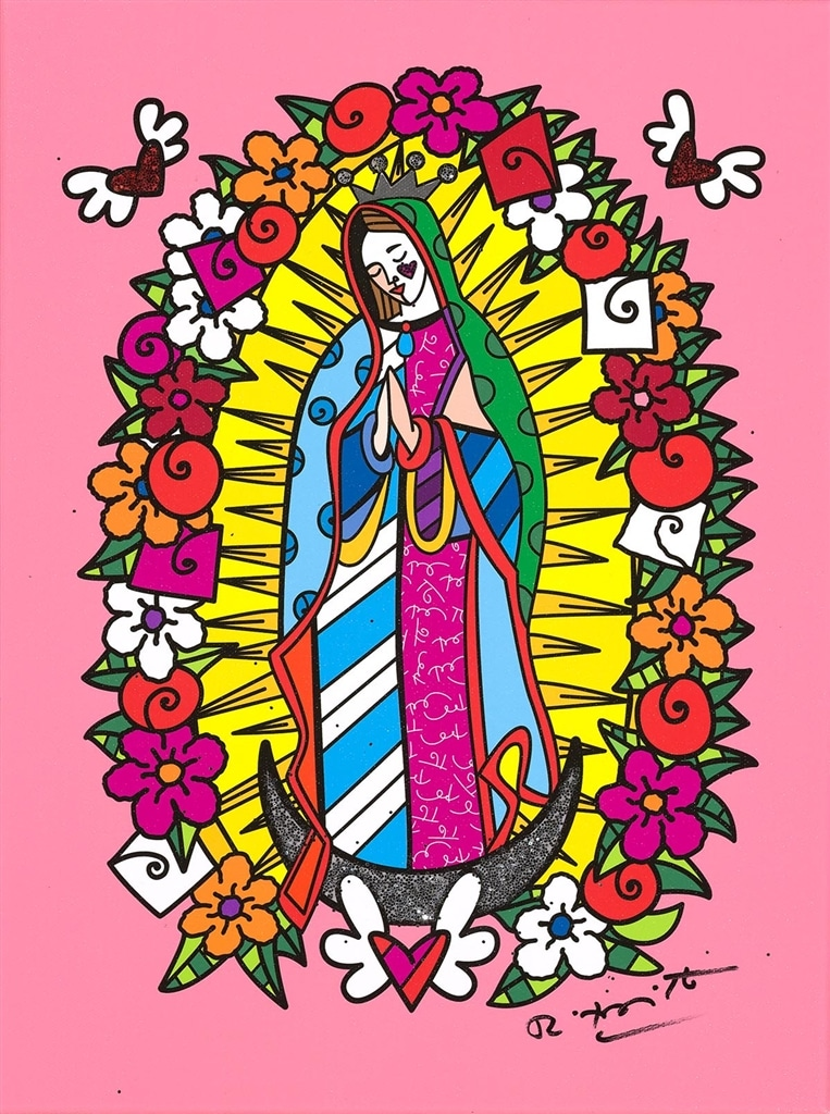 """Virgin"" (2018), Romero Britto"