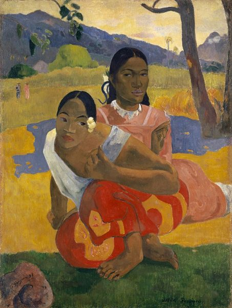 """Nafea Faa Ipoipo"" (When Will You Marry?), 1892, Paul Gauguin"