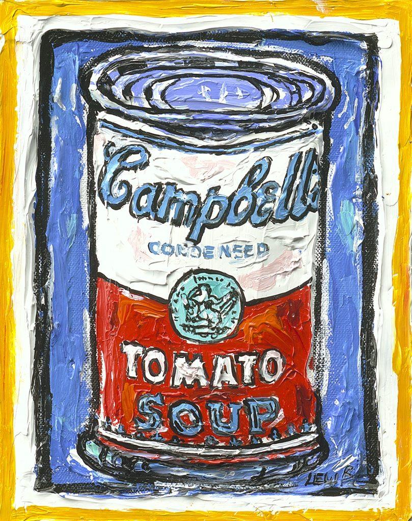 Pop Art Campbell's Soup Can Leslie Lew
