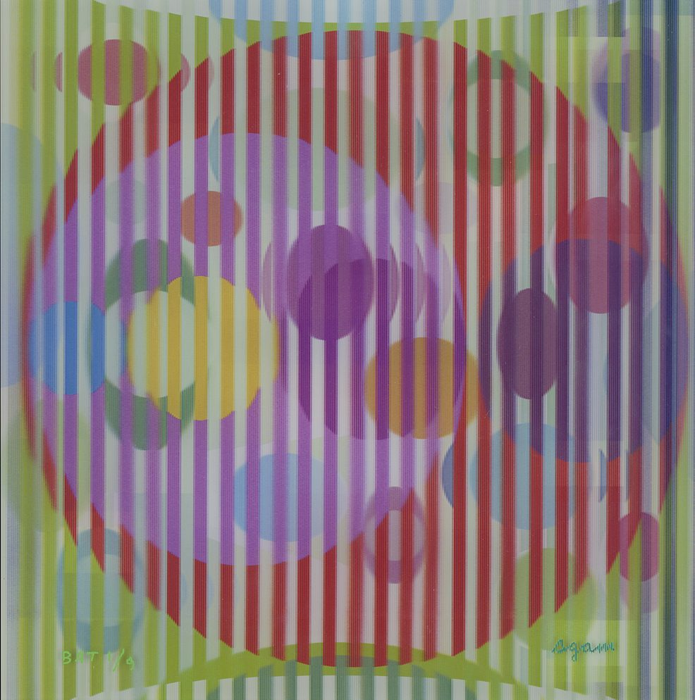 Yaacov Agam Park West Gallery Four Seasons