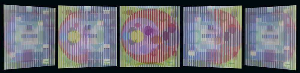 Four Seasons Yaacov Agam Park West Gallery