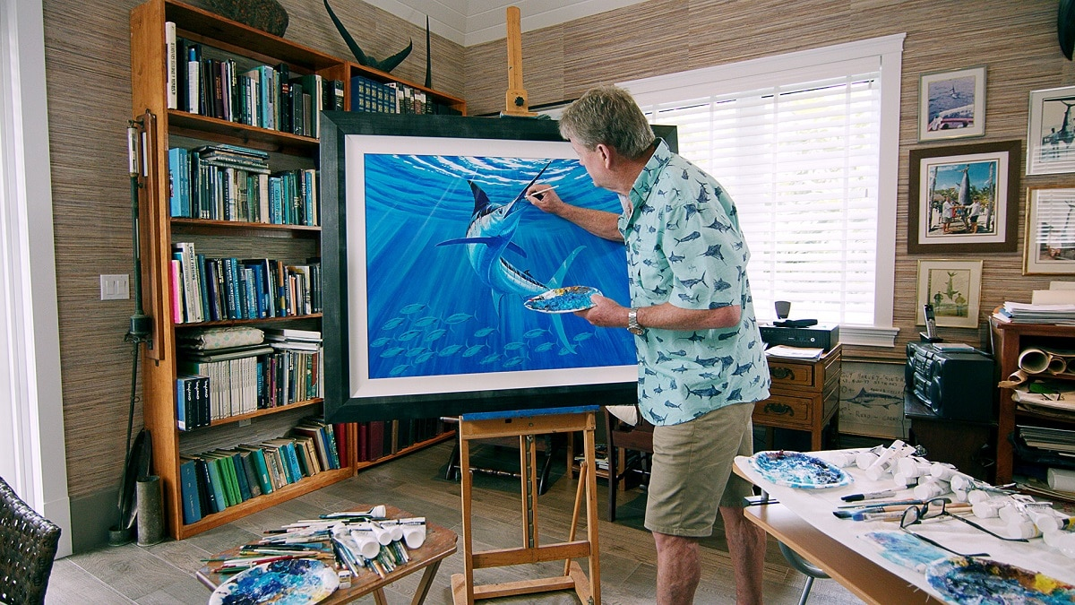 Artist Guy Harvey