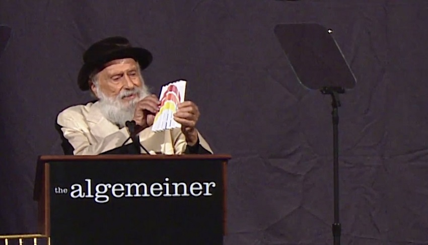 Yaacov Agam, Warrior for Truth Award, Algemeiner's J100 Gala