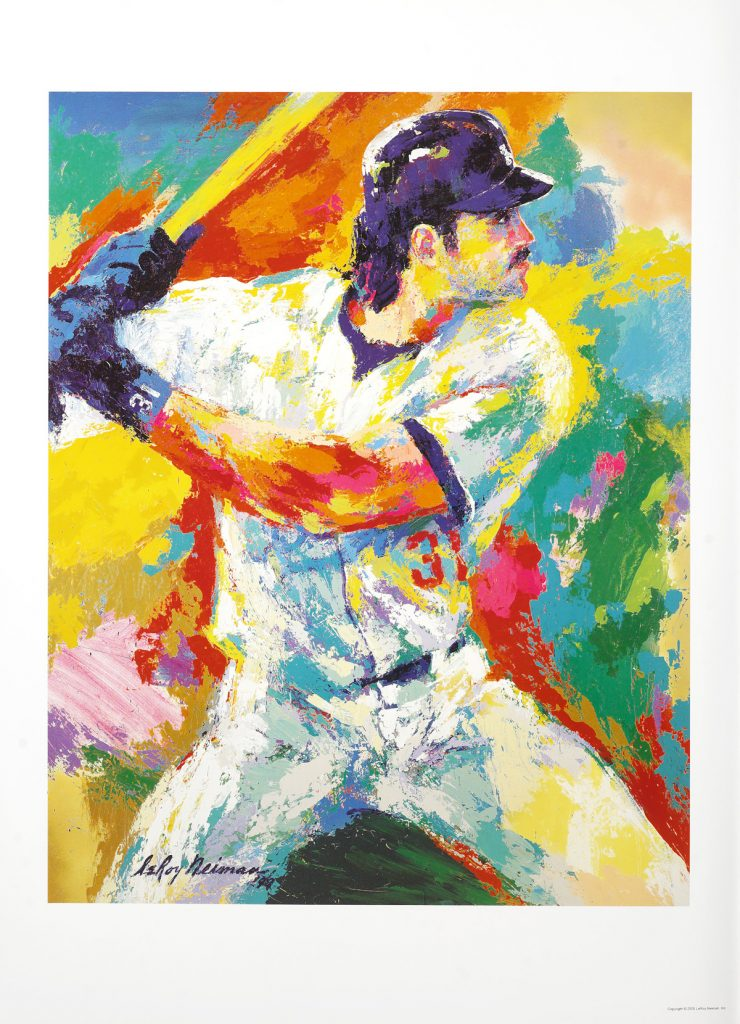 Mike Piazza LeRoy Neiman Park West Gallery