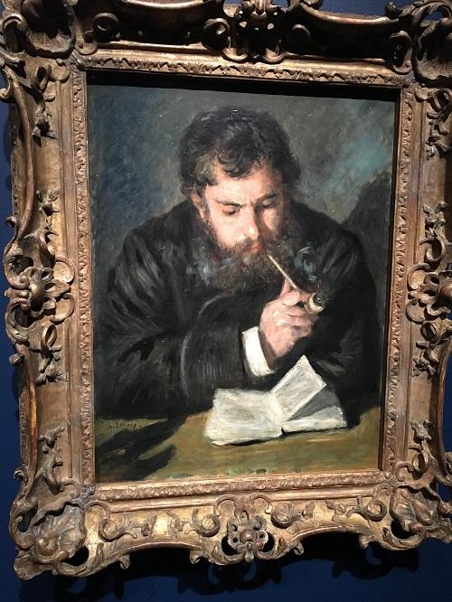 """Claude Monet"" (1872), Pierre-Auguste Renoir."