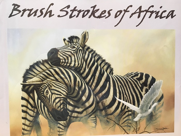 """Brush Strokes of Africa"" by Andrew Bone, Park West Gallery art book"