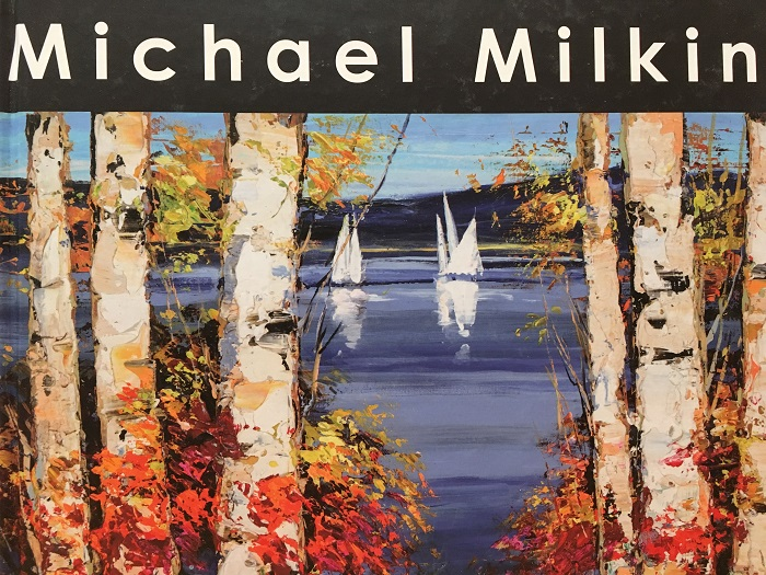 """Michael Milkin"" by artist Michael Milkin, Park West Gallery art book"