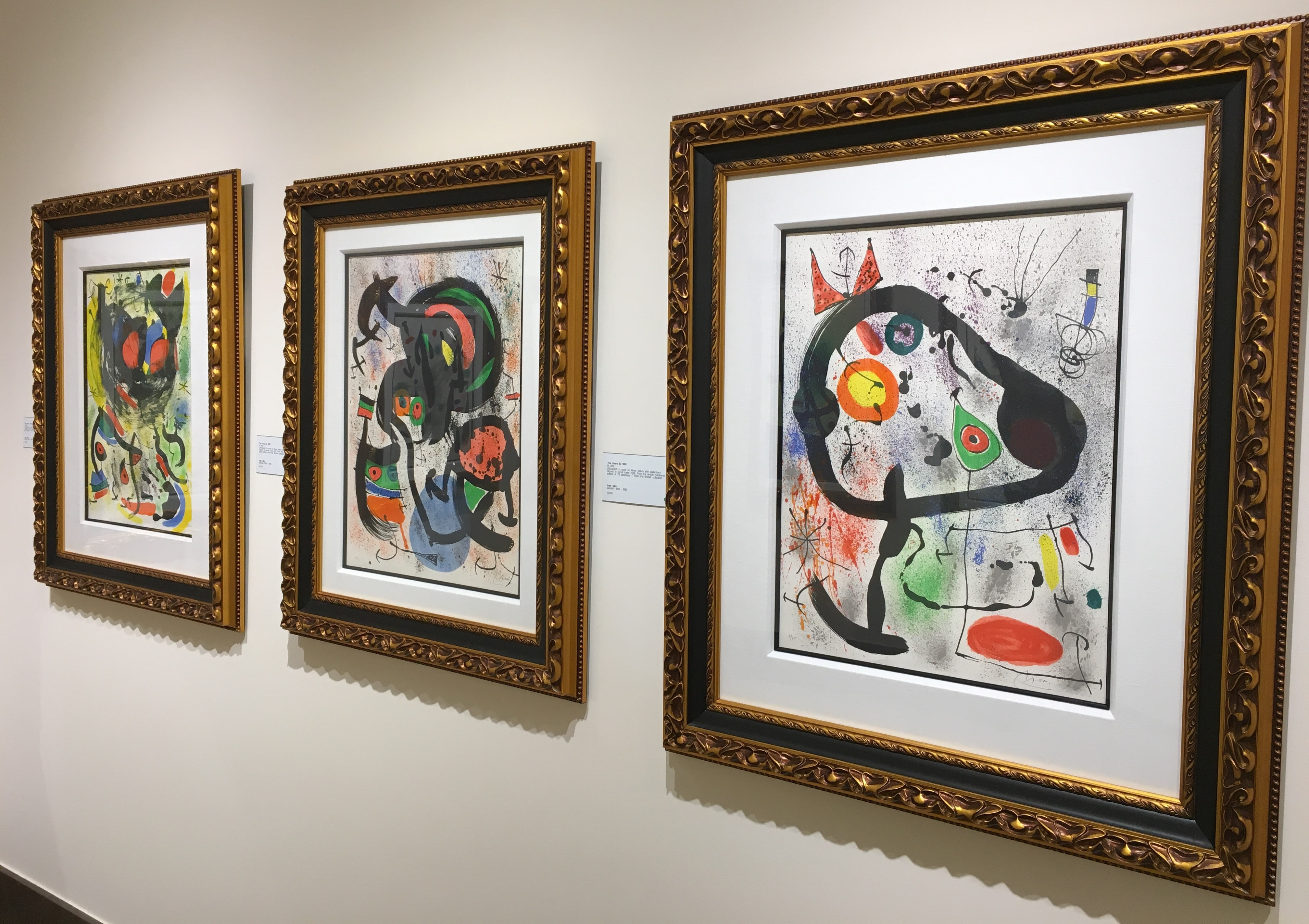 The Joan Miró Gallery at Park West Museum
