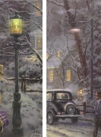 Thomas Kinkade A Holiday Gathering
