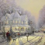Park West Gallery Thomas Kinkade A Holiday Gathering