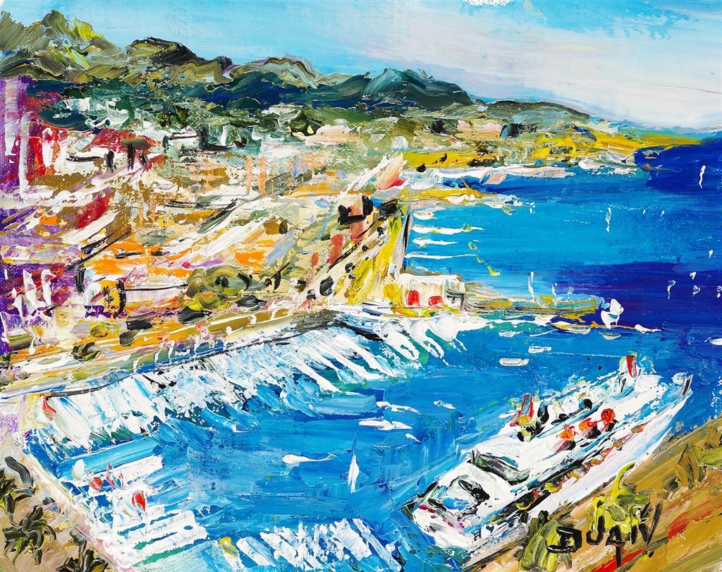"""""""Cannes Cruise"""" (2017), Duaiv, cruise ship art"""