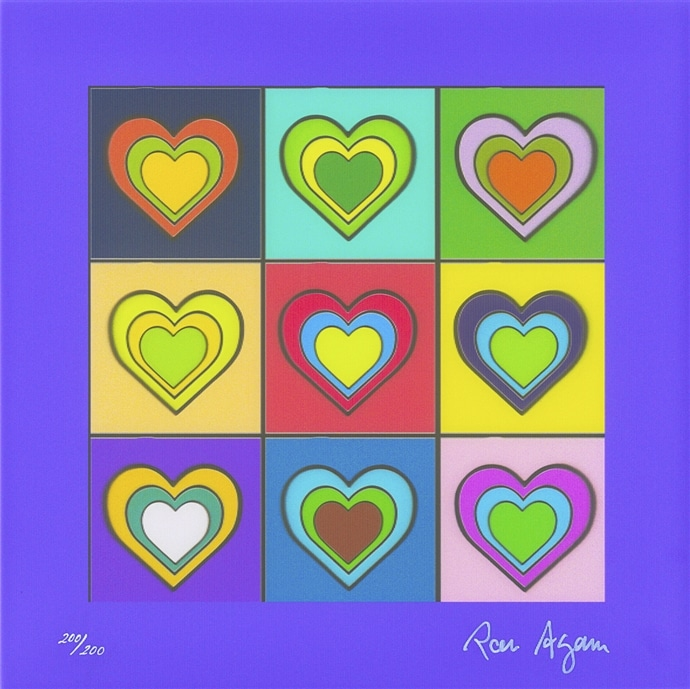 """To Love is to Live"" (2018), Ron Agam"