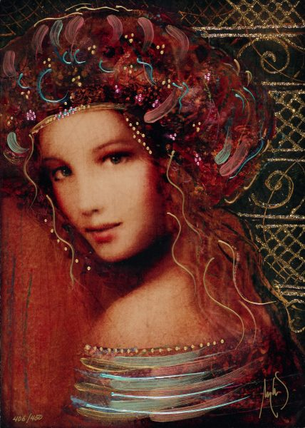 Park West Gallery Csaba Markus Woman of the Spring