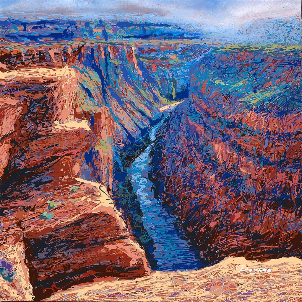 """A Small Window of the Grand Canyon"" (2019), Michael Romero"