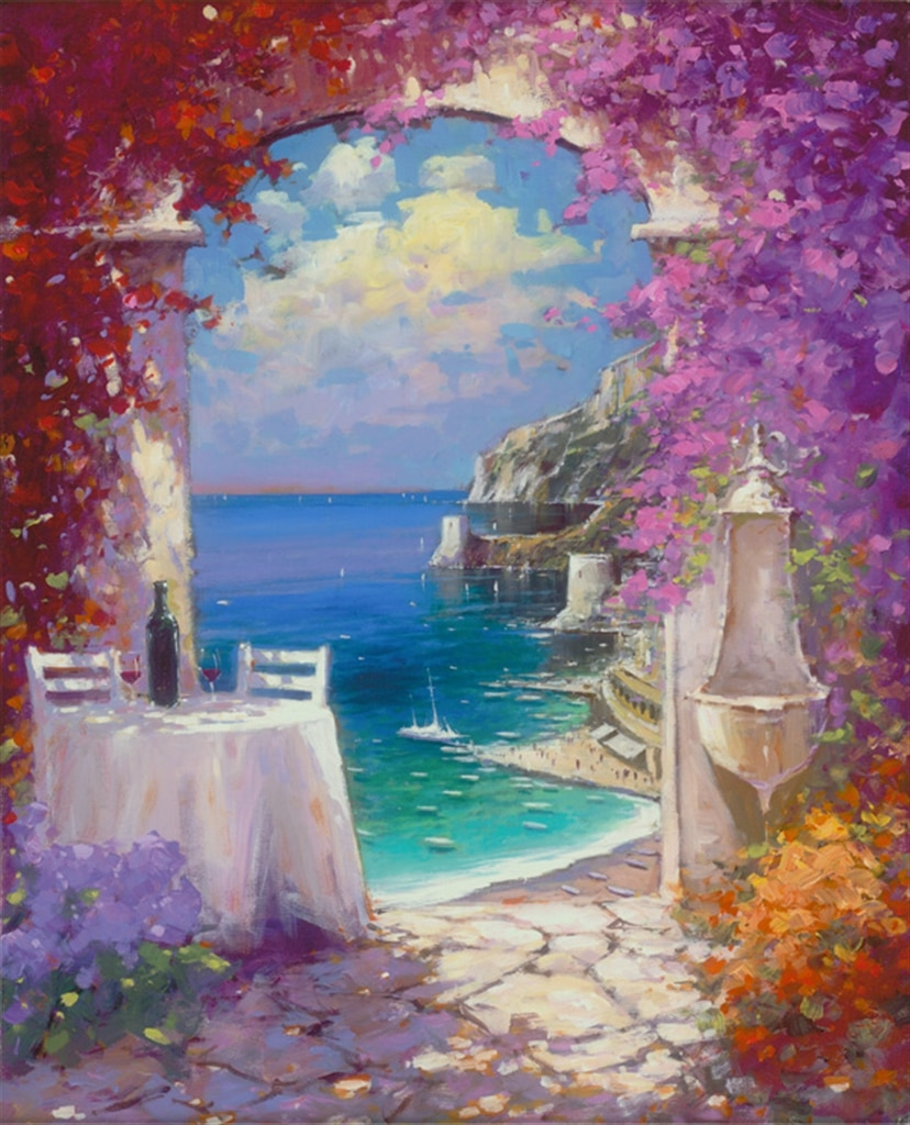 """Down the Amalfi Coast,"" Marko Mavrovich"