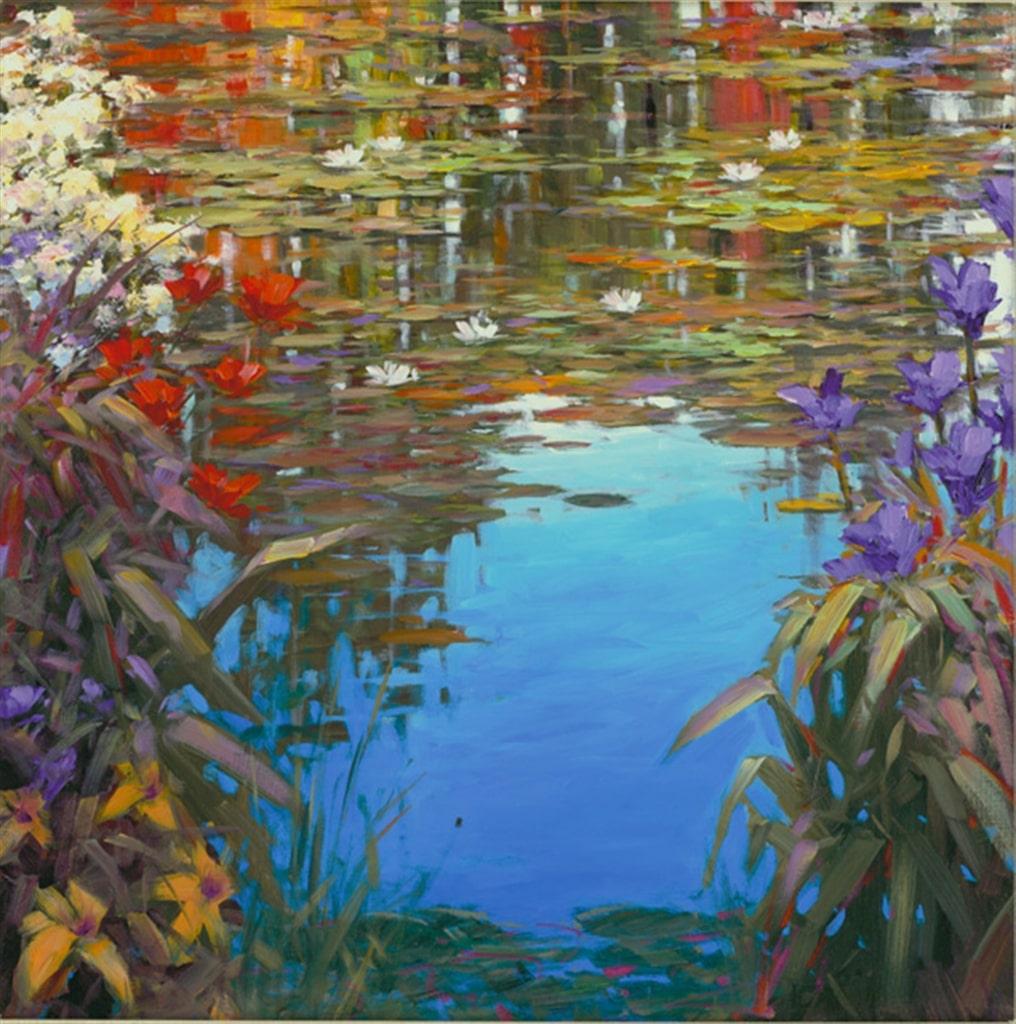 """Giverny Spring,"" Marko Mavrovich"