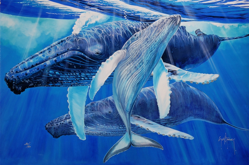 """Mother's Touch"" (2015), Guy Harvey, Guy Harvey art, Park West Gallery"