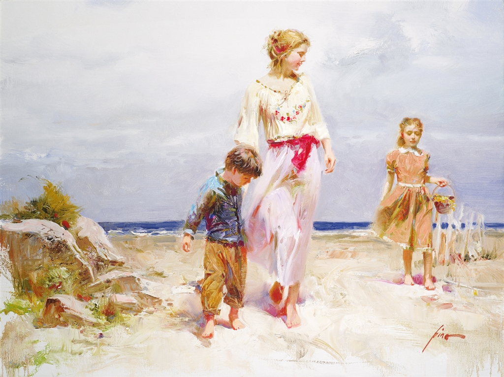 """Treasured Moments"" (2009), Pino, Park West Gallery, summer art"