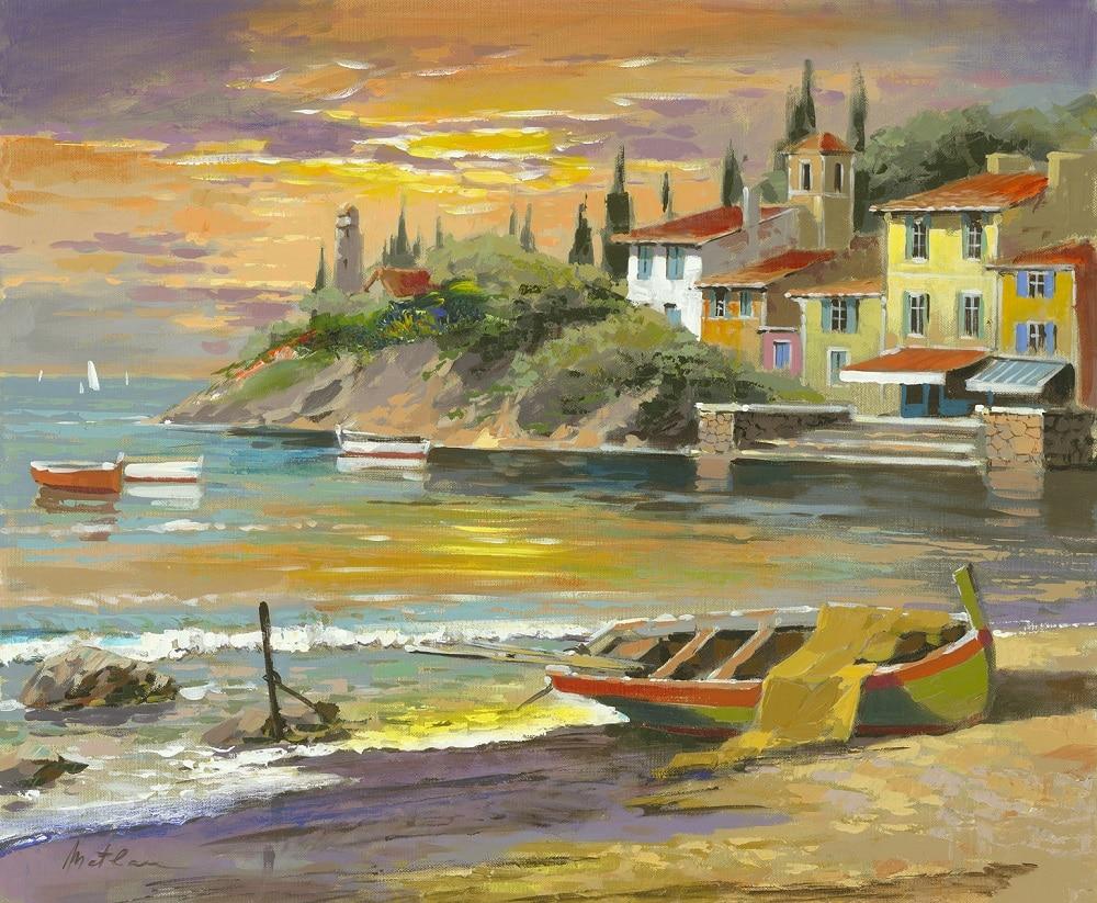 """Beach at Sunrise,"" Anatoly Metlan"