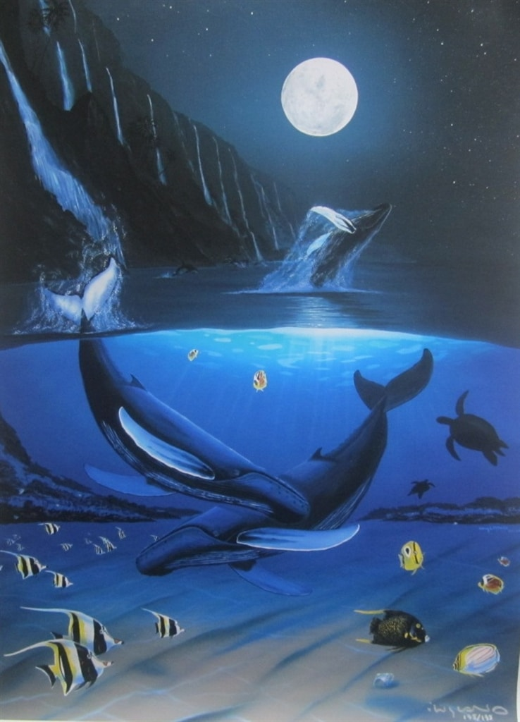"""Ocean Passion"" (2011), Wyland"