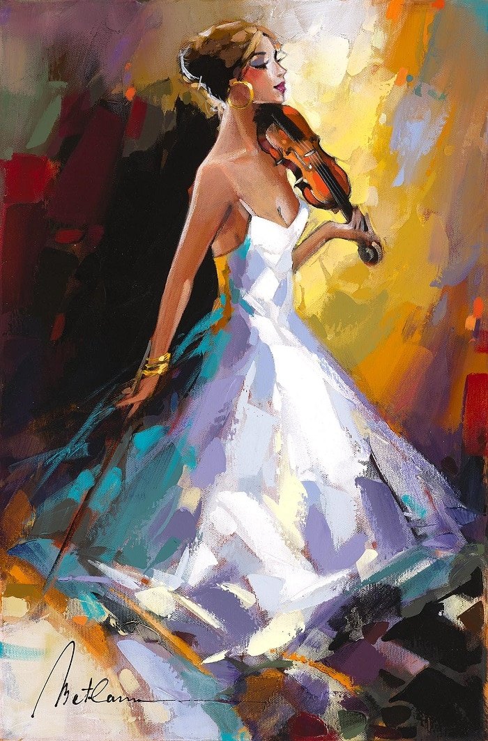 """Women's Glow,"" Anatoly Metlan"