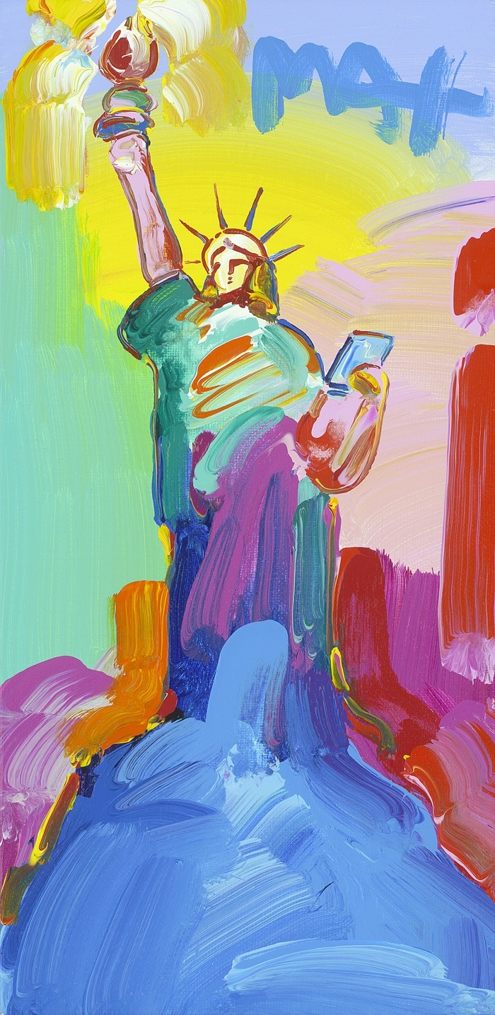 """Statue of Liberty Ver. I #419,"" Peter Max"