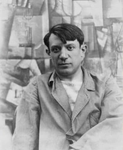 Pablo Picasso Image source: Public Domain.