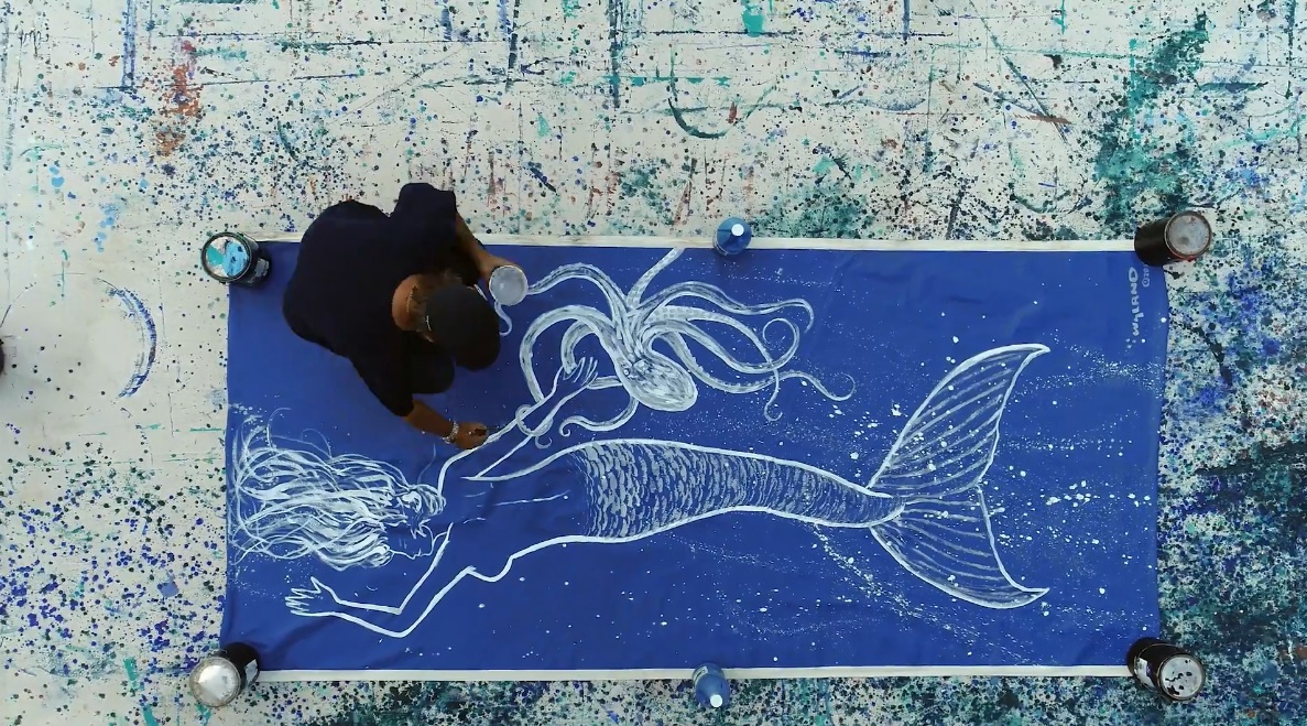 Artist Wyland in this new video from Park West Gallery