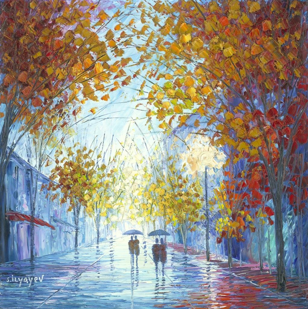 """Healing Rain"" (2017), Slava Ilyayev"
