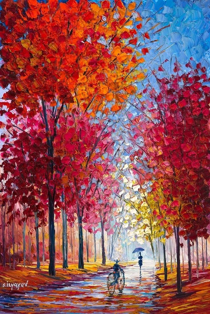 """Light Growing Between Trees,"" Slava Ilyayev"