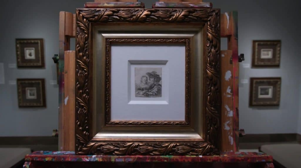 Etching by Rembrandt van Rijn—one of the true masters of art now on display at Park West Gallery.